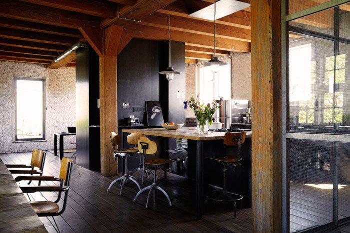 studiobakker canalhouse kitchen